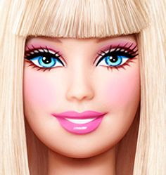 Get real it's Barbie Barbie Makeup, Barbie Images, Barbie Movies, Barbie Dream House, Barbie World, Disney Drawings, Scrapbook Paper Crafts, Press On Nails, House Party