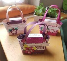 Handtaschen als Abschieds- und Dankeschöngeschenke für unsere Kindergartenbetreuerinnen mit Stampin'up!  @ Ute Lamprecht Up, Kate Spade, Bags, Handbags, Gifts, Bag, Totes, Hand Bags