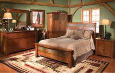 Bedroom Expressions: Aspen Shaker Bedroom Group : B9-PKASPSQH