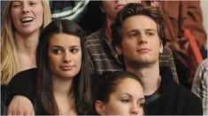 Those You've Known: Lea Michele and Jonathan Groff Reunite on 'Glee' Lea Michele, Jonathan Groff Glee, Jonathon Groff, Glee Season 1, Finn Glee, Glee Club, Rachel Berry, Spring Awakening, Chris Colfer
