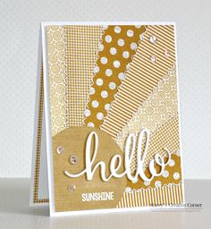 Stacey's Creative Corner: Hello Sunshine!