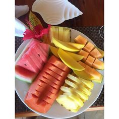 Fruit Salad Healthy Living Pineapple Watermelon