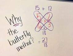 Middle School Math Moments (and more!): WHY the Butterfly Method When Adding and…