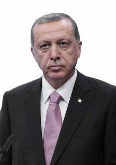 Erdogan, president van Turkije. Commentaar overbodig !