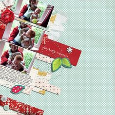 """""""Imperfectly Perfect"""" by Jennifer, as seen in the Club CK Idea Galleries. #scrapbook #scrapbooking #creatingkeepsakes"""