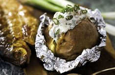 Baked Potato, Tapas, Muffin, Potatoes, Baking, Breakfast, Ethnic Recipes, Food, Morning Coffee