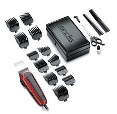 Hair Beard Cut Shaver Trimmer Barber Clipper Salon Groomer Andis PRO Styling New Barber Clippers, Hair Kit, Hair Clippers & Trimmers, Professional Tools, Hair And Beard Styles, Hair Pieces, Health And Beauty, Red Black, Farmhouse