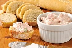 An Underwood classic: fresh mushrooms, deviled ham and cream cheese. Enjoy this as a side dish or appetizer! Recipe courtesy of Paula Herion Deviled Ham Salad Recipe, Ham Salad Recipes, Potluck Recipes, Summer Recipes, Tunnel Of Fudge Cake, Retro Recipes, Ethnic Recipes, Seven Layer Salad, Bread Bowls