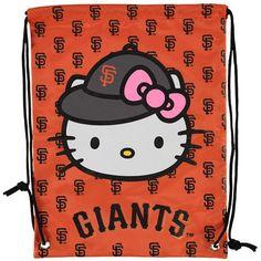 San Francisco Giants Hello Kitty Drawstring Backpack