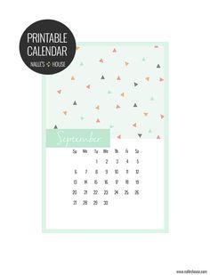 FREE Printable Calendar September 2015