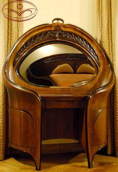 Plus de 1000 id es propos de art nouveau mobilier sur for Mobilier bureau 974