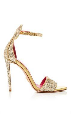 Glitter Minnie Sandal by OSCAR TIYE for Preorder on Moda Operandi