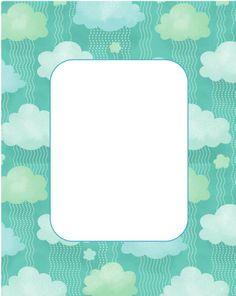 Printable - Folder tag