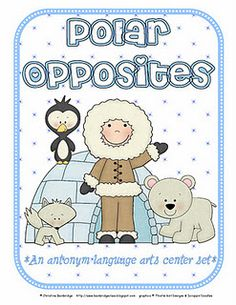 Polar Opposites-  Pinned by @PediaStaff – Please Visit http://ht.ly/63sNt for all our pediatric therapy pins
