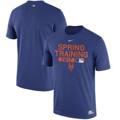 New York Mets Nike 2017 Spring Training Authentic Collection Legend Team Issue Performance T-Shirt - Royal