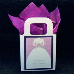 Bridal Shower Favor Bags And Boxes