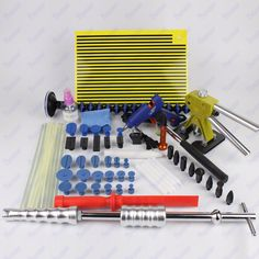 115.00$  Watch here - http://aliy1y.worldwells.pw/go.php?t=32776812999 - Auto Car Body Paintless Tool Kit Bridge Dent Puller Remover Repair Hand Tool