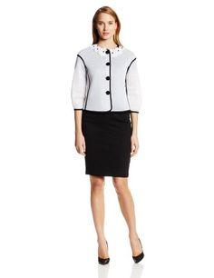 Love Moschino Women's Mesh Collarless Jacket - List price: $450.00 Price: $154.97  #LoveMoschino
