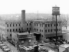 boiler house..big chimney...water tower (private system)...never see this anymore...