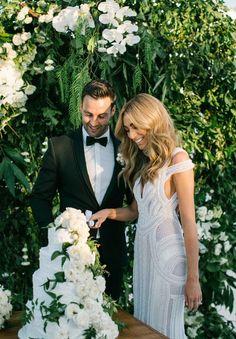 J'aton Couture Nadia Bartel Wedding