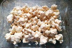 Pečený karfiol v jogurtovej marináde, Hlavné jedlá, Delená strava - recepty, recept | Naničmama.sk Snack Recipes, Snacks, Cauliflower, Food And Drink, Vegetables, Fit, Cooking, Lasagna, Snack Mix Recipes