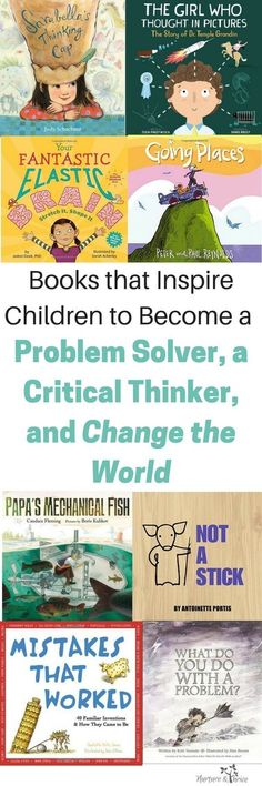 Four ways to raise your child to be a critical thinker, an innovator, and to embrace diversity in thinking. These books teach children about metacognition and the brain. via NThrive Coding Kids Reading, Teaching Reading, Teaching Kids, Reading Books, Teaching Biology, Reading Lists, Science Books, Science For Kids, Life Science