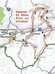 Best Motorcycle Rides in North Carolina - Sandy Mush
