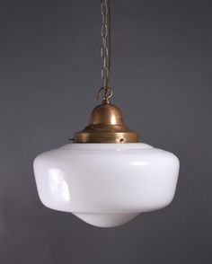 Kitchen pendants-vintage schoolhouse lights