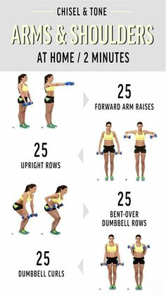 Try these four moves that target your arms, shoulders, and back simultaneously for a chiseled upper body Workout efficiently! Try these four moves that target your arms, shoulders, and back simultaneously for a chiseled upper body At Home Workout Plan, At Home Workouts, Arms And Back Workout At Home, Workout Plans, Fitness Diet, Health Fitness, Pilates Workout, Arm Toning Workouts, Workout Challenge