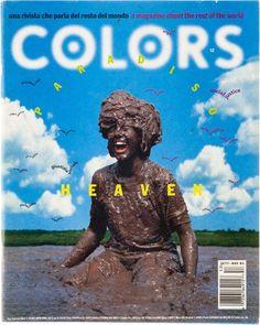 "cMag134 - Colors Magazine cover ""Heaven Issue"" / Tibor Kalman / Nº 12 / September 1995"