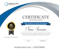 Certificate Of Participation Template, Certificate Design Template, Certificate Of Achievement, Award Certificates, Round House Plans, Company Names, Textured Background, Layout Design, Royalty Free Stock Photos