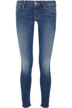 Mother | The Looker low-rise skinny jeans |