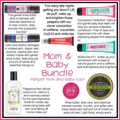 Make a Perfectly Posh bundle for a new mom and her sweet baby!