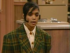 15 Reasons Why Denise Huxtable Is A Fashion Icon Lisa Bonet Cosby Show, The Cosby Show, 20th Century Fashion, Fashion Tv, School Fashion, Halloween Party Costumes, Plaid Blazer, African American Women, Hair Today