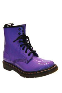 Dr. Martens - 8 eye - Lilac patent
