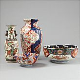 Skålar och vaser Japan Imari | Stadsauktion | 199451