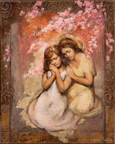 Annie Henrie Art   Altus Fine Art Comforting Angel