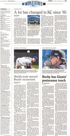 News Design: St. Cloud Times' October 19, 2014 sports inside page
