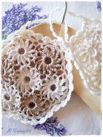 Il contafili: Uncinetto sfizioso d'estate...Whimsical summer crochet....