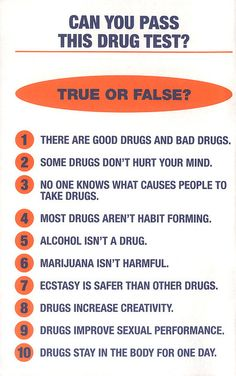 #Can You Pass This Drug Test?  Like, repin, share! Thanks