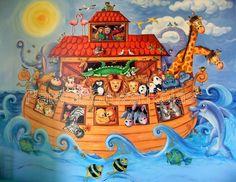 Arca de Noe Mural