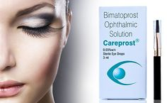 Latisse is a medication that is used to growth the length of the eyelashes as well as makes it darker and thicker too.