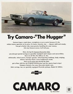 1967 Chevrolet Camaro The Hugger