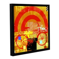 Mark Andrew Allen Bicycle Framed Graphic Art