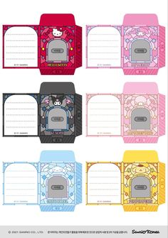Photo Png, Id Photo, Printable Stickers, Cute Stickers, Frame Template, Templates, Doremi Anime, Kpop Diy, Cute Envelopes