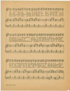 One of hundreds of thousands of free digital items from The New York Public Library. Music Paper, New York Public Library, Sheet Music, Digital, Free, Music Sheets