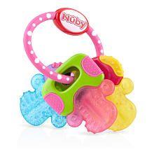 Nuby IcyBite Pink Teething Keys