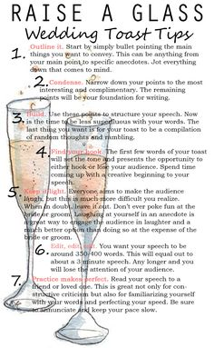 Wedding Toast Tips English Lessons
