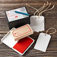 Stamp & Tag Kit #WilliamsSonoma