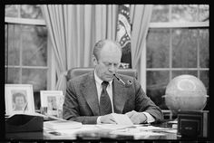 President Gerald Ford.